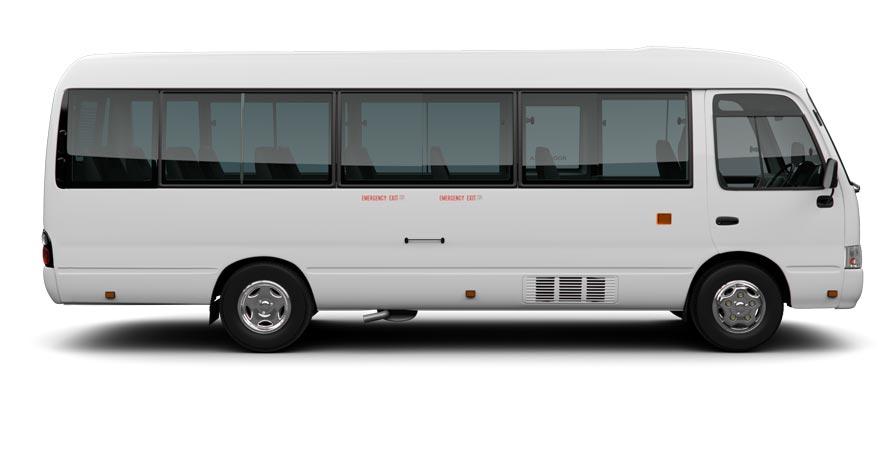 Large minibus option